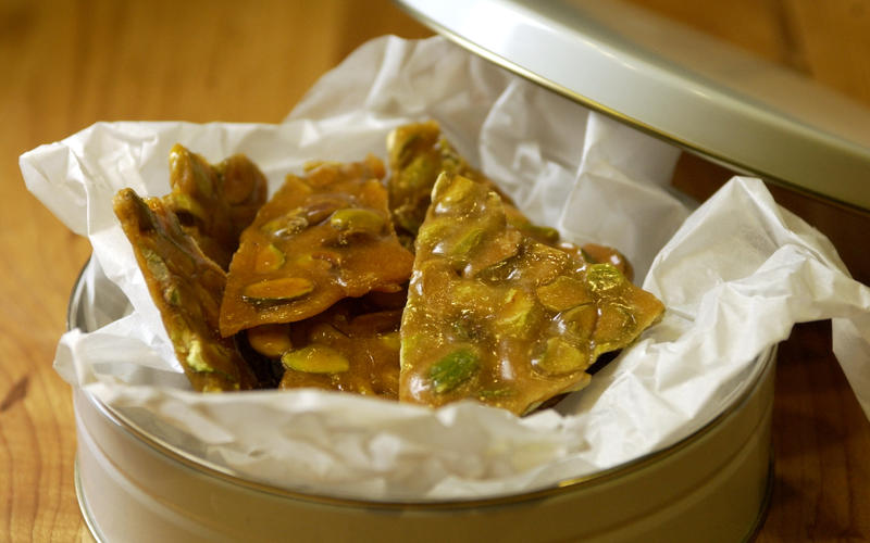 Pistachio  Nut brittle