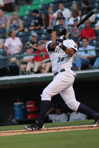 White Sox outfield prospect Avisail Garcia of the Charlotte Knights.