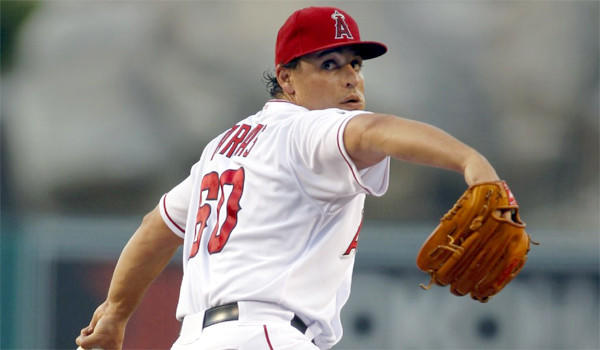 Jason Vargas made a rehabilitation start for triple-A Salt Lake on Thursday night, allowing four runs on four hits.