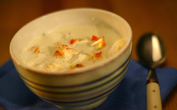 Grannan's lobster chowder