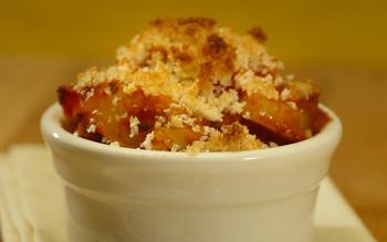 Bacalao and potato gratin