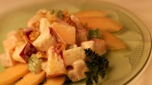 Dorothy Lamour's cantaloupe salad