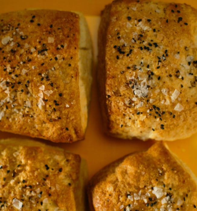 Salt and pepper sandwich biscuits