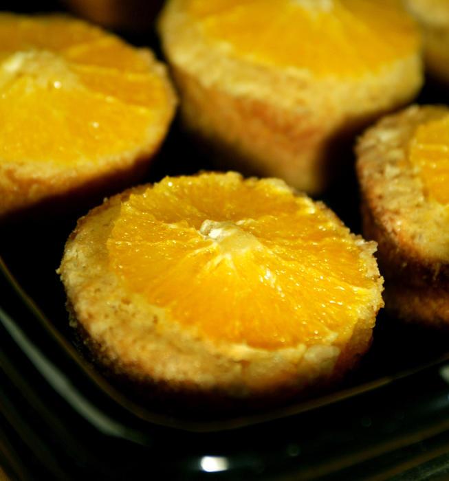 Clementine's sunshine corn cakes