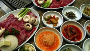 Short ribs, Korean style (Kalbi)