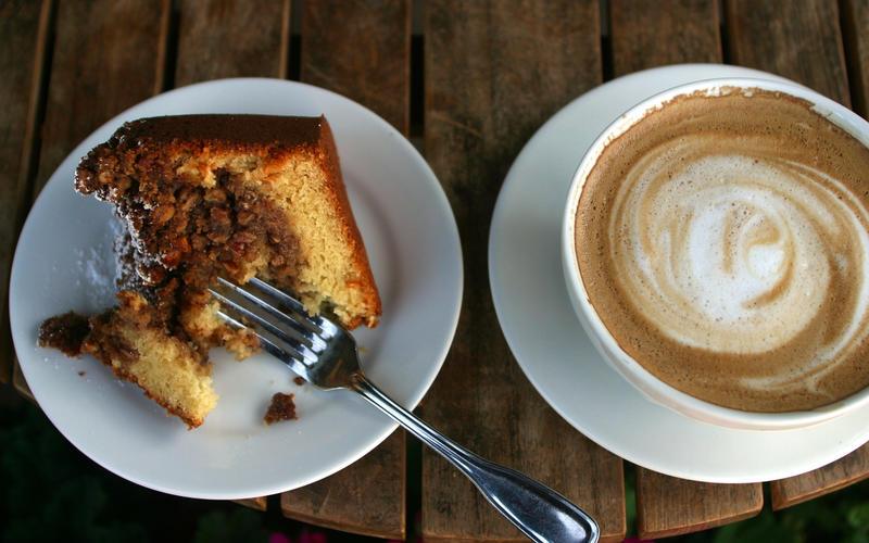 Rosie's pecan coffeecake