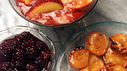 Boysenberry compote
