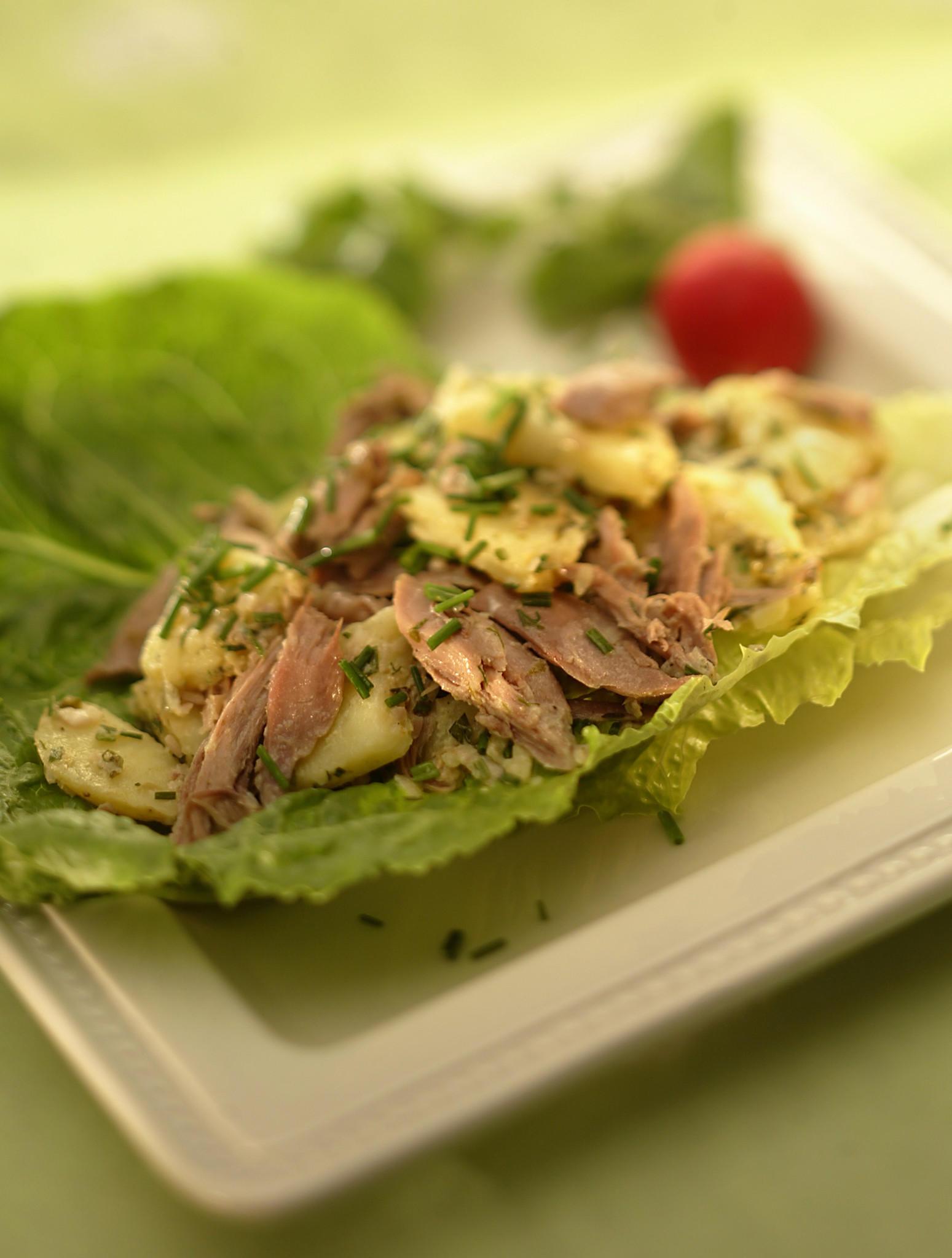 Recipe: Duck and potato salad - California Cookbook