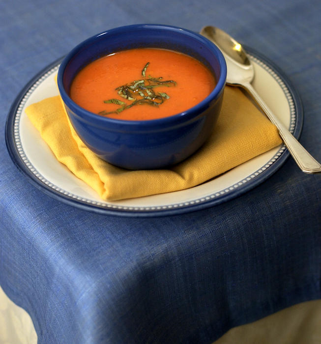Recipe: Nordstrom's tomato basil soup - California Cookbook