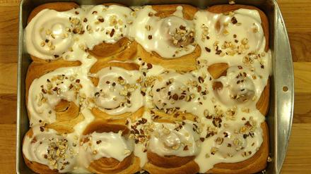 Cardamom sweet rolls