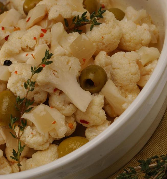 Quick cauliflower pickles