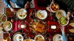 Soy-brined turkey