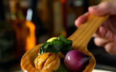 Legumes cuisines en cocotte