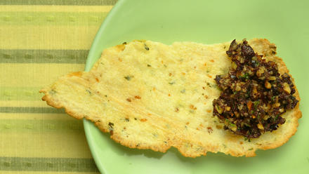 Almond tapenade