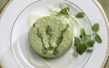 Asparagus flans