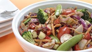 Leafless salad