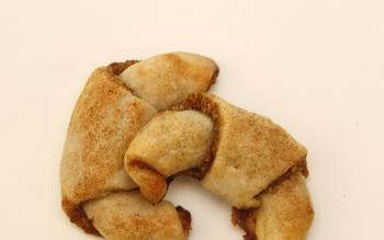 Cherry pistachio rugelach