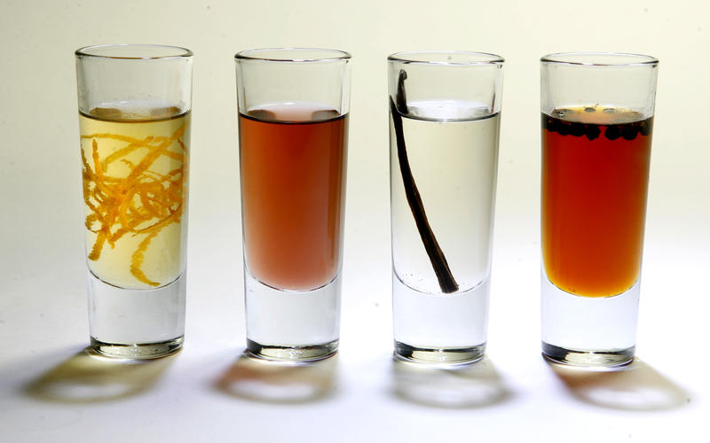 Basic simple syrup with variations