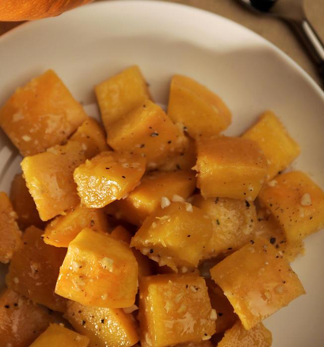Vietnamese glazed pumpkin