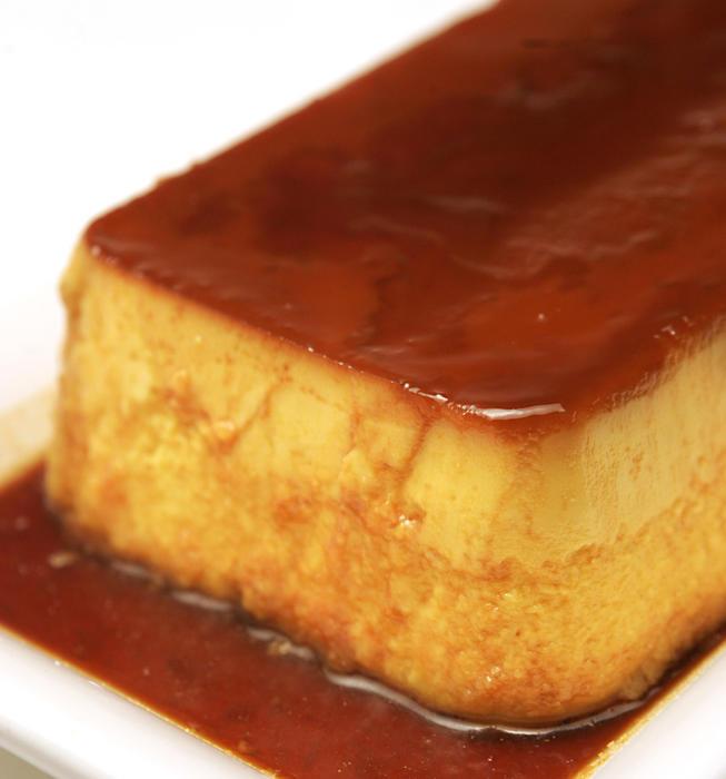 Kabocha squash creme caramel