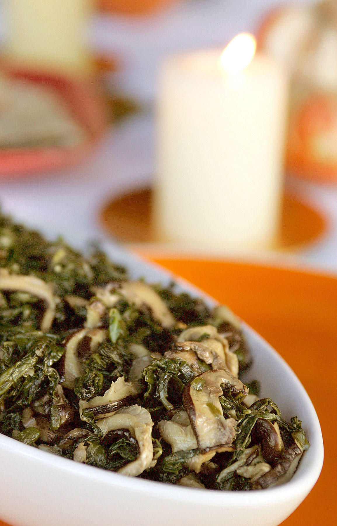 Recipe: Swiss chard and shiitakes with poblanos - California Cookbook