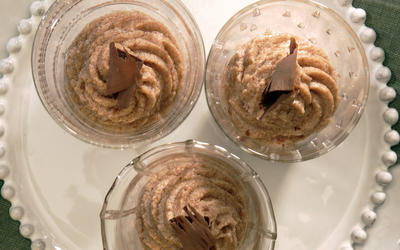 Chestnut mousse