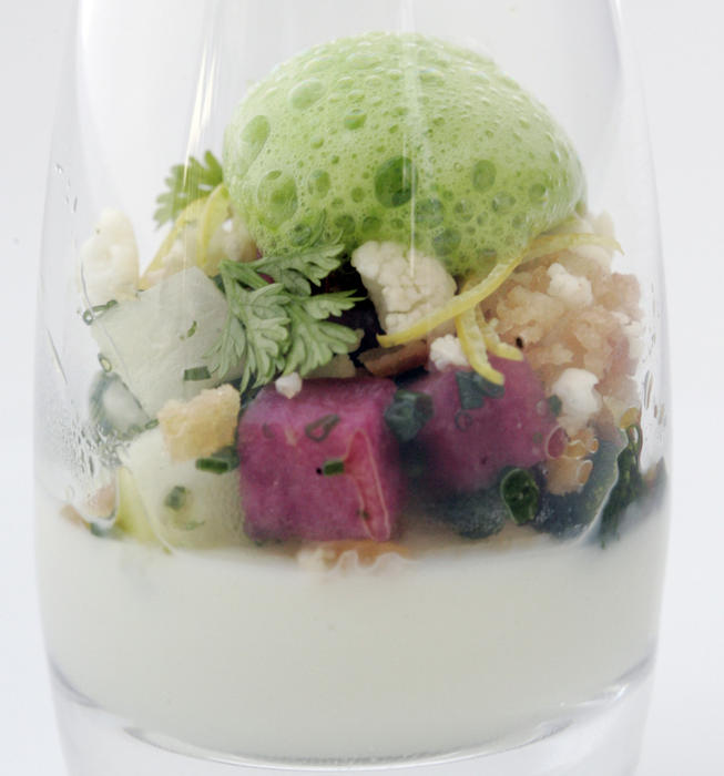Cauliflower amuse