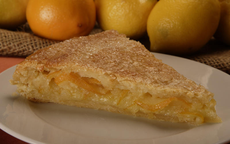 Recipe: Shaker lemon pie - California Cookbook