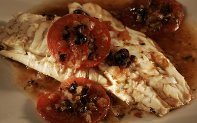 Provencal braised fish