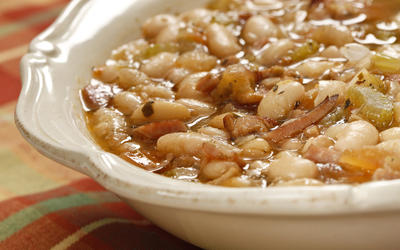 Creperie du Village's soupe aux haricot blanc