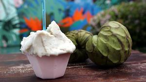 Cherimoya gelato