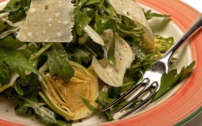 Rice Salad With Prosciutto And Artichokes Recipe — Dishmaps