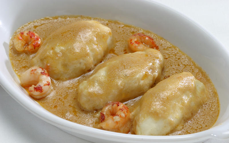 Recipe: Quenelles Nantua - California Cookbook