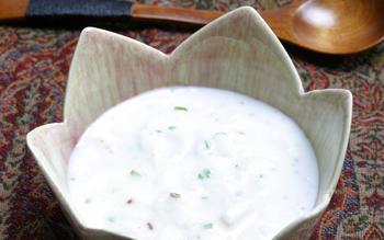 Muji chetin (radish raita)