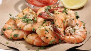 Peel-'n'-eat shrimp