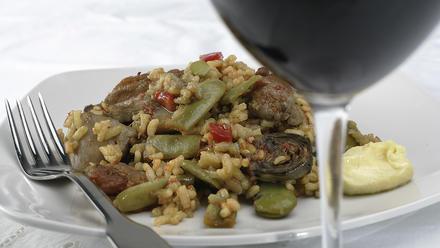 California paella