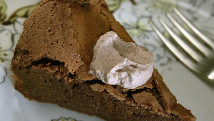 Chocolate torte souffle