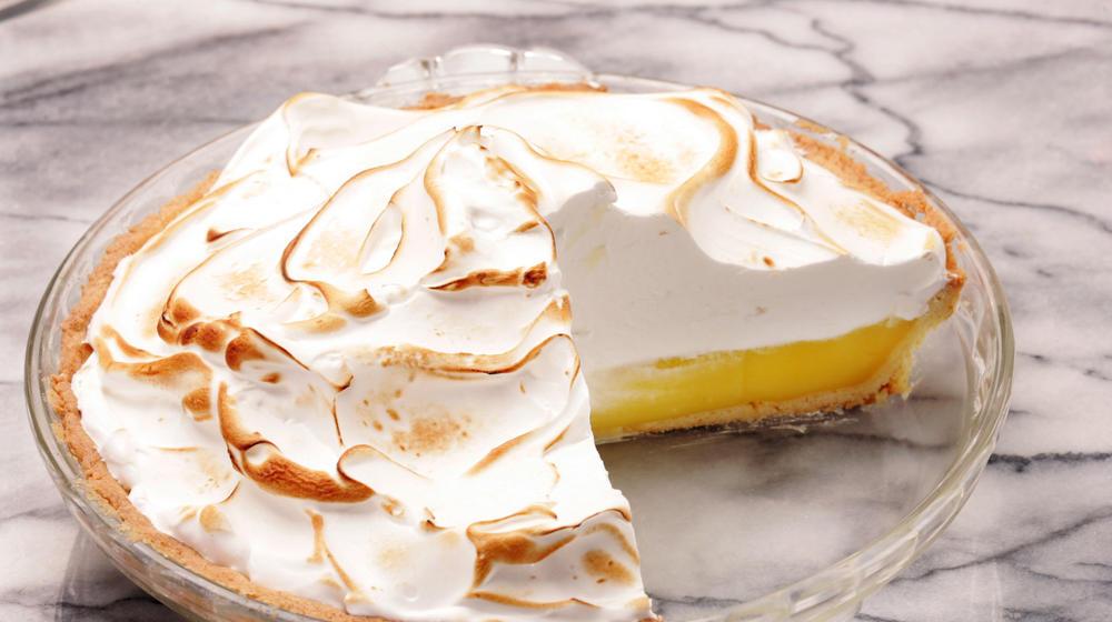 Nick & Stef's lemon meringue pie