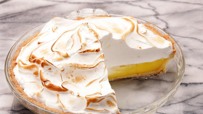 Nick & Stef's lemon meringue pie