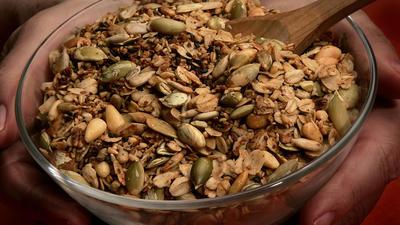 Savory granola