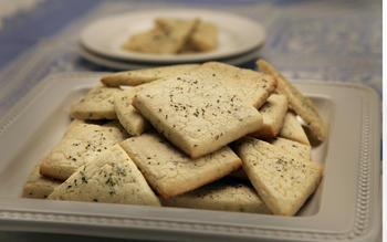 Rosemary/thyme cookies