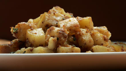 Creamy home fries