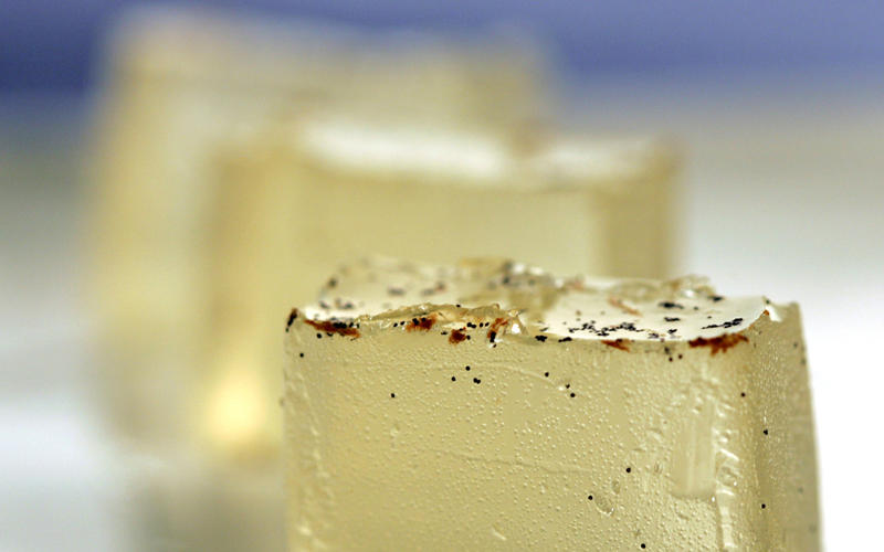 Prosecco gelee