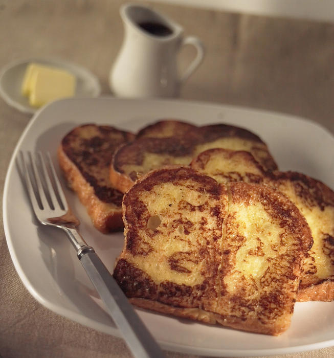 Square One Dining's French toast