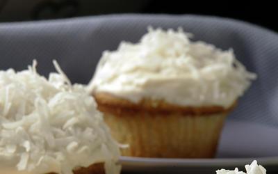 Auntie Em's coconut cupcakes