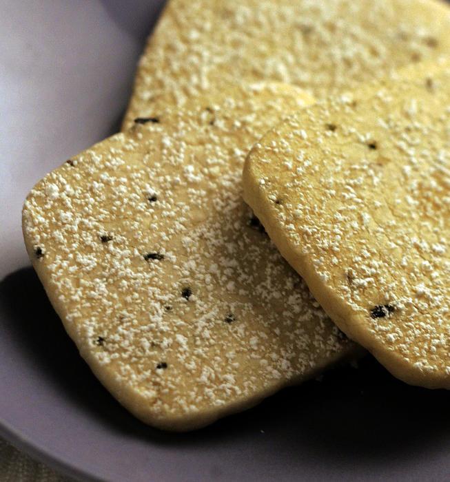 Akasha's lavender shortbread