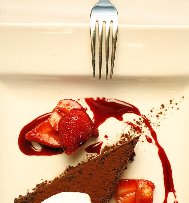 Flourless chocolate cake (Gateau d'Ariel)