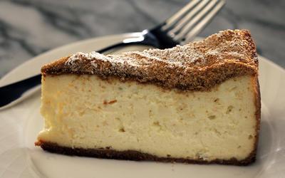 Marino's ricotta cheesecake