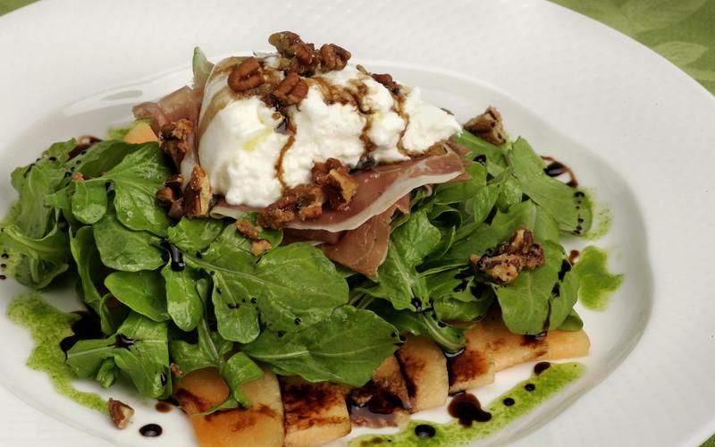 Murano's burrata salad