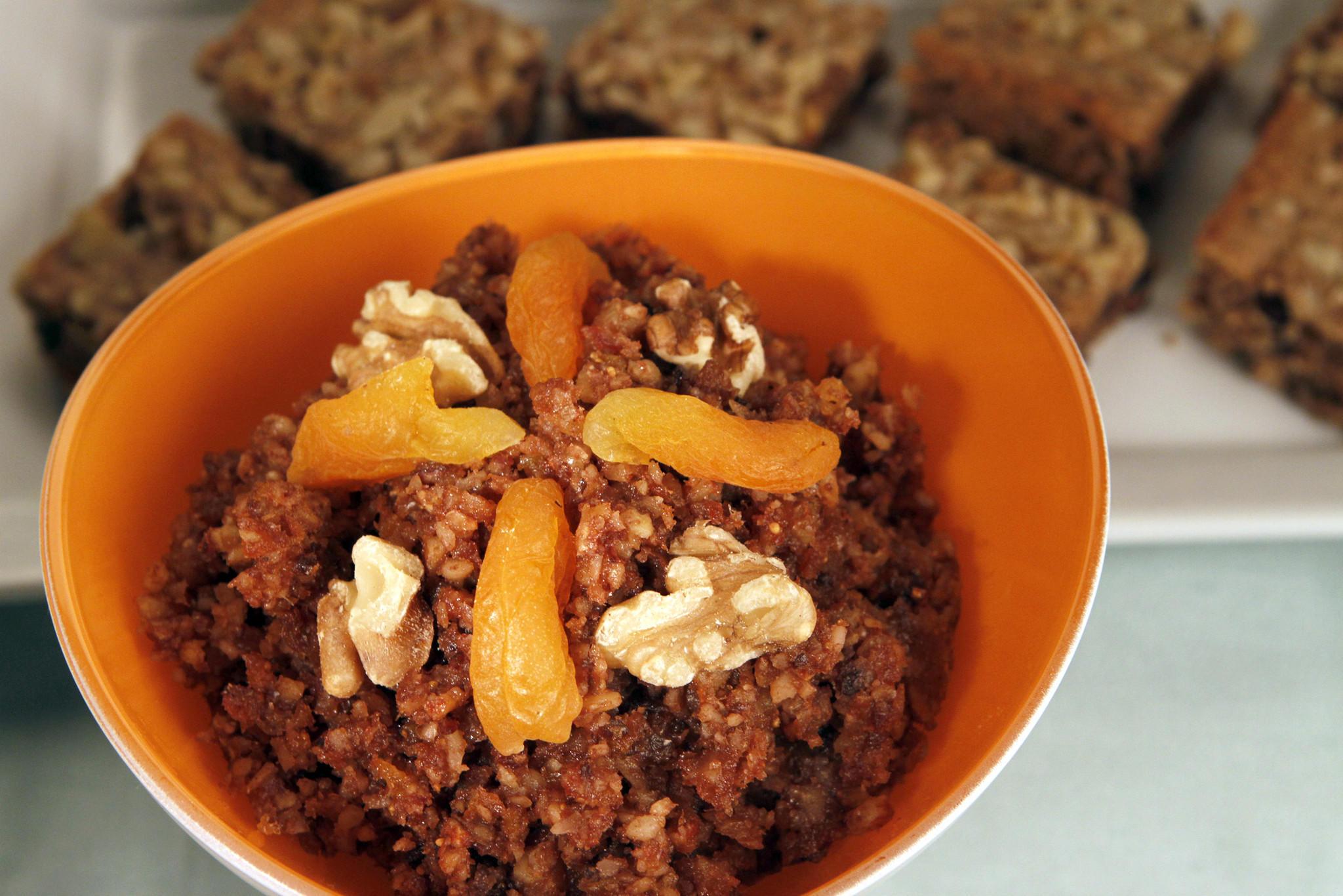 Recipe: Haroset with Bible land fruits - California Cookbook